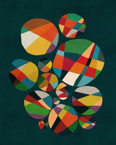 Poster | WHEEL OF FORTUNE von Budi Kwan | more posters at http://moreposter.de