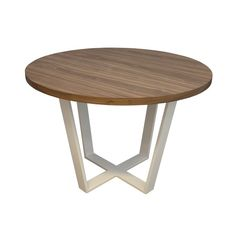 stół OKRĄGŁY ORZECH