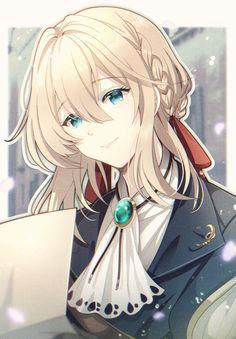 Manga Anime Girl, Otaku Anime, Fanarts Anime, Anime Characters, Violet Evergarden Gilbert, Cute Anime Girl Wallpaper, Violet Evergreen, Violet Evergarden Anime, Anime Galaxy