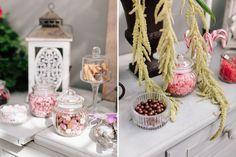 Traumhafte candybar in pink und rosa mit glasgef en von for Nanu nana hochzeit