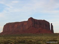 Eagle Mesa Monument Valley http://theblondegardener.com/2016/01/24/gouldings-lodge-of-monument-valley/