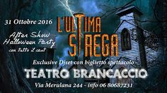 Claudia Grohovaz: L'ultima strega … show +  Halloween Party limited ...