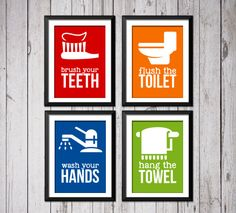 Hey, I found this really awesome Etsy listing at https://www.etsy.com/listing/187989924/kids-bathroom-art-prints-kids-bathroom