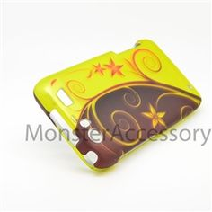 Click Image to Browse: $5.95 Elegant Swirl Hard Case Snap On Cover For Motorola Atrix 3 HD Dinara MB886
