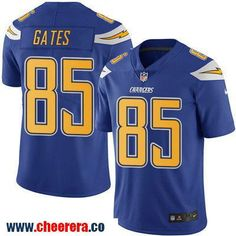 Men's San Diego Chargers #85 Antonio Gates Royal Blue 2016 Color Rush Stitched NFL Nike Limited Jersey