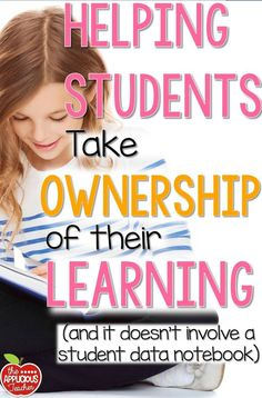 We want our kids to take ownership of their learning but does it have to involve a Data Notebook. Here's 5 ways you can help students become congnative of their learning and not one involves destroying self worth with stagnate data. New Teachers, Elementary Teacher, Elementary Education, School Teacher, Upper Elementary, Teacher Helper, Student Teacher, School Counselor, Childhood Education