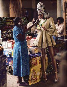 MERI WILD BLOG MODA ♥: Sharleen Dziire Elle Africa 01/13