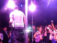 awesome AJ McLean Pole Dancing at Backstreet Boys Cruise Pre-Party at Cameo, Miami, 2011