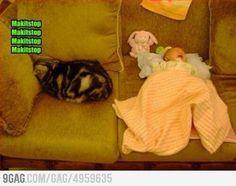 How I feel babysitting
