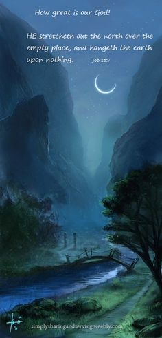 crescent moon - not a bad fantasy. Beautiful Moon, Beautiful World, Beautiful Things, Fantasy World, Fantasy Art, Illustration, Stars And Moon, Night Skies, Concept Art