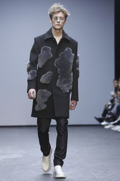 Xander Zhou Menswear Fall Winter 2015 London