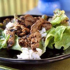 Bulgogi (Korean Beef Barbecue) from Cooking Light