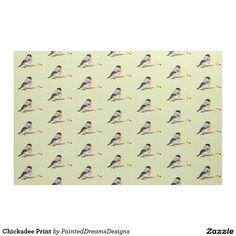 http://www.zazzle.com/chickadee_print_fabric-256302481939982140