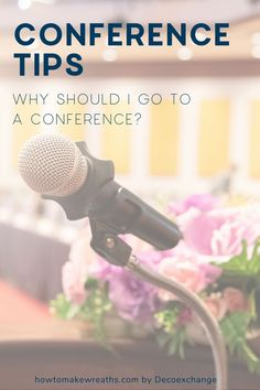 Are you heading to a conference? Whether this is your first time or your hundredth, these conference tips will help you enjoy your time while also presenting yourself in the best light possible. Out Of Office Reply, Next Conference, Get Educated, Can You Help, Wreath Supplies, Home Goods Decor, Trendy Tree, Support Small Business, New Relationships