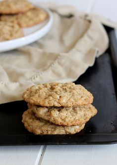 These White Chocolate Cinnamon Oatmeal Cookies are soft and delicious! They are full of warm, homey flavors packed into a chewy oatmeal cookie.