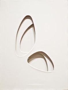 Paolo Scheggi artiste italien né en 1940 à Florence et mort en 1971 à Rome. spatialisme