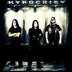 The Swedish death metal band Hypocrisy was formed by Peter Tägtgren in 1990 upon his return to Sweden from Florida, where he had been inspired by that state's flourishing death metal scene (bands like Morbid Angel, Deicide, Death and Obituary).