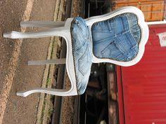 by Mimi Freidel,jean chair........