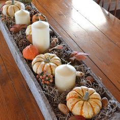 My Modern Country: Rustic Fall Centerpiece Using A Reclaimed Pallet!