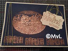 Mannenkaart Stampin up stempels gebruikt