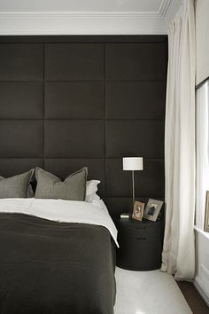 Bedroom - I like the colors, but I don't want a padded headboard/wall