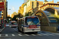 Metropolitan Transportation Authority, Bus Terminal, Bus Stop, Artsy Fartsy, New York City, North America, Nyc, Board, New York