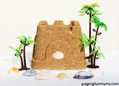 Tropical Sand Dough! Made with only 3 ingredients, you can bring the beach to your backyard!