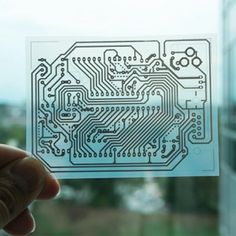 Ink-Jet Printing Custom-Designed Micro Circuits