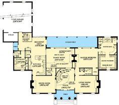 Magnificent Estate Home Plan - 32461WP floor plan - Main Level