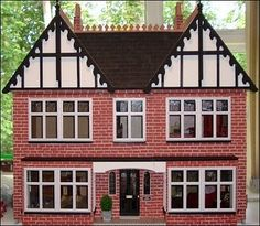 Edwardian doll House set in the 1930's