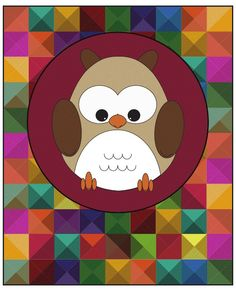 #10 What I've made #3 Owl Illustration for Visual Communication Class