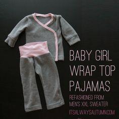 Schlafanzug für Mädchen - nähen