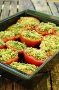 Tomates provencales!!!hum trés facile a faire,trés bien avec des grillades, cuisine,recette