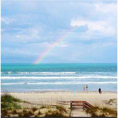 New Smyrna beach rainbow<3
