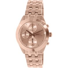 Marc by Marc Jacobs Women's Peeker MBM3394 Rose Gold Stainless-Steel Quartz Watch Deal