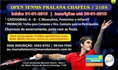 OPEN TENNIS PRALANA CHAPEUS 2015