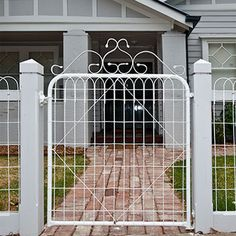 Garden Gates And Fencing, Timber Fencing, Fence Gate, Garden Buildings, Garden Structures, Melbourne, Wire Trellis, Farm Gate, Farmhouse Landscaping