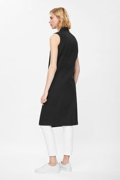 COS | Sleeveless blazer dress