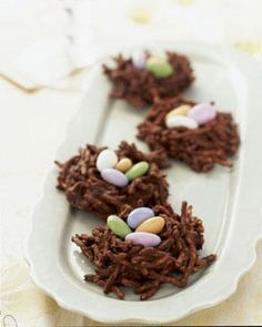 Chocolate Nests. Thats amazing. I wish I had this gem when it was easter!