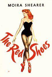 Las zapatillas rojas Poster