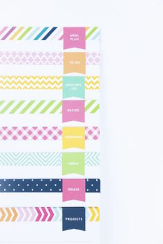 Get organized. Sheet sets by Emily Ley | Perfect for the Simplified Planner™ or any binder. Visit www.EmilyLey.com/simplified for FREE printables also! $8 for a set of 25. http://pict.com/p/5e