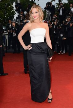 Jennifer Lawrence at Jimmy P. (Psychotherapy Of A Plains Indian) Premiere during the 66th Annual Cannes Film Festival at Grand Theatre Lumiere on May 18, 2013 in Cannes, France.