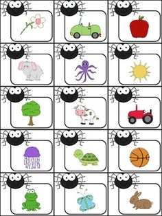 Spider Syllables activity!  Students will sort words that have one, two, or three syllables!