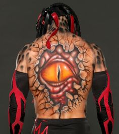 Get an up-close look at the insane body paint and entrance gear sported by Finn Bálor during the NXT TakeOver: specials on WWE Network.