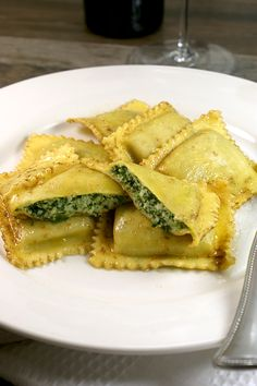 Tortelli in Brown Butter and Sage