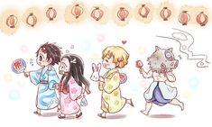 とりっこ(清丸) (@niwatori_suzume) さんの漫画 | 6作目 | ツイコミ(仮) Anime Chibi, Kawaii Anime, Anime Manga, Anime Art, Slayer Meme, Demon Slayer, Cute Anime Pics, Cool Sketches, Manga Boy