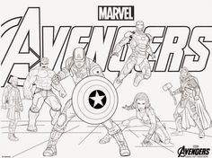 Avengers Coloring Pages Free. Avengers coloring pages. Wonder of the Avengers Coloring Pages. There are many high quality Avengers coloring pages for your kids - printable for free. Hulk Coloring Pages, Avengers Coloring Pages, Superhero Coloring Pages, Marvel Coloring, Online Coloring Pages, Free Coloring Sheets, Free Printable Coloring Pages, Coloring Pages For Kids, Coloring Books