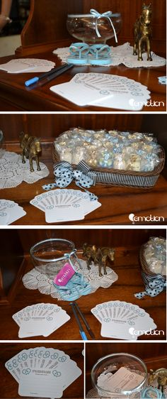Chá de bebe cavalinho azul e marrom | Blue and Brown Horse Themed Baby Shower
