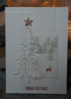 da läuft's! Heute war so ein Tag, an dem mir die Weihnachtskarten für meine Spendenaktion quasi wie am Schnürchen von der Hand gingen. Da si...