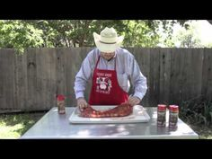 How To Texas BBQ - St Louis Cut Pork Spare Ribs with Dry Rub on the Smoker  We're here to show you how easy it is to cook BBQ St Louis cut pork spare ribs on a grill. If have a grill but you've never cooked a rack of pork spare ribs before, Part 1 of our How-to for ribs video is your best friend.  Go here for Part 2: http://youtu.be/1FVH5I7_4C8